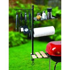 BBQ Accessory Organizer. Ants would love this.