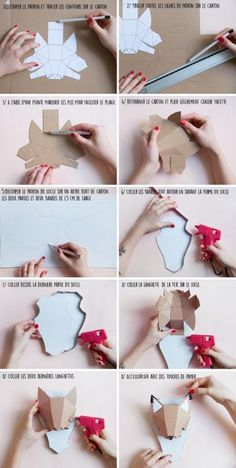 Origami for Everyone – From Beginner to Advanced – DIY Fan Origami Diy, 3d Paper Crafts, Paper Crafts Origami, Paper Toys, Diy Paper, Easy Diy Crafts, Diy Crafts For Kids, Diy Niños Manualidades, Carton Diy