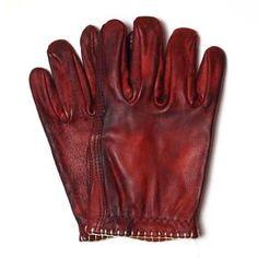 MotoStuka Bloody Shanks Glove - Oxblood | Motorcycle Gloves | FREE UK delivery - The Cafe Racer