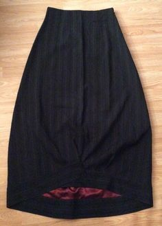 Stunning Sarah Pacini Tailored Maxi Balloon Skirt Size 2 UK 12