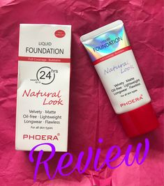 ​New Phoera 24hr Foundation Review!!​ ​​​​ Liquid Foundation, Lifestyle, Blog, Blogging