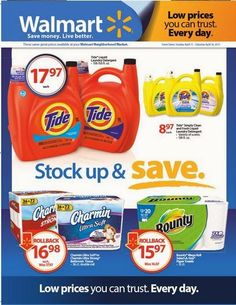 $25 Walmart Stock Up and Save giveaway