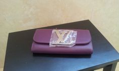 Louis Vuitton Vivienne LV Long Wallet M58177 purple. real shoot. $159+FREE shipping+on-line payment