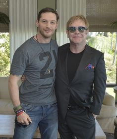 """""""Rocketman"""" : quand Tom Hardy croise Sir Elton John... [PHOTO] - News films Vu sur le web - AlloCiné"""