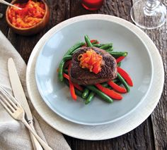 For my Beef Medallions with Spicy Onion Jam recipe and video view here - http://www.annabel-langbein.com/recipes/beef-medallions-with-spicy-onion-jam/685/