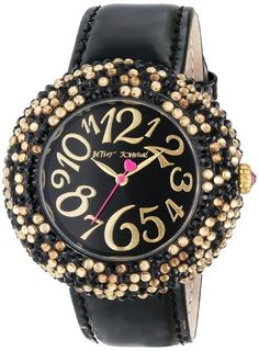Betsey Johnson Women's BJ00234-02 Analog Leopard Pave Dial Watch Betsey Johnson,http://www.amazon.com/dp/B00BQ3C55S/ref=cm_sw_r_pi_dp_P9hFtb1JWN52D9VT