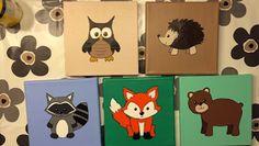 Det kreative hjørne..: Børne malerier