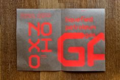 Gas - Type Design by John Mailley, via Behance