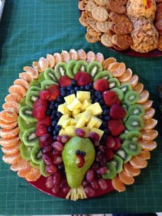 Thanksgiving fruit tray | Decorative