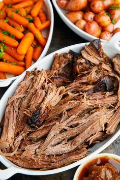 Slow Cooker Balsamic Glazed Roast Beef Closet Cooking, Pressure Cooker Pot Roast with Balsamic and Rosemary Eastern Ontario Network, Insta. Crock Pot Slow Cooker, Crock Pot Cooking, Slow Cooker Recipes, Cooking Recipes, Healthy Recipes, Crockpot, Roast Beef Recipes, Chicken Recipes, Balsamic Beef