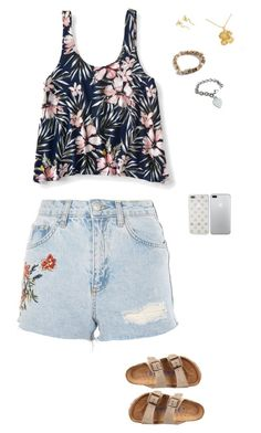 """Art (Ki)"" by chagasjam ❤ liked on Polyvore featuring Aéropostale, Topshop, Birkenstock, Kate Spade and Tiffany & Co."