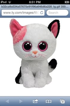 6154a87104f Ty Beanie Boos Muffin Cat Plush Official Ty product with the authentic Ty  heart-shaped tag! Extra huggable Beanie Baby Size Handmade with the finest  quality ...
