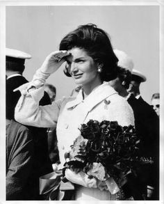 """Jacqueline Kennedy Onassis, (née Jacqueline Lee """"Jackie"""" Bouvier;  July 28, 1929 – May 19, 1994), was the wife of the 35th President of the United States, John F. Kennedy, and First Lady of the United States during his presidency from 1961 until his assassination in 1963. ❤❋ ❤❋ ❤❋ ❤❋ ❤  http://en.wikipedia.org/wiki/Jacqueline_Kennedy_Onassis"""