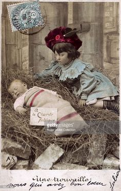 Postcard. Babies. Getty Images