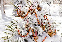 bird seed feeder tree {10 Homemade Birdseed Feeders}