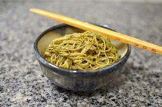 Stellar Recipes: Thai Basil Pesto. She says is too spicy. Cut pepper in half.