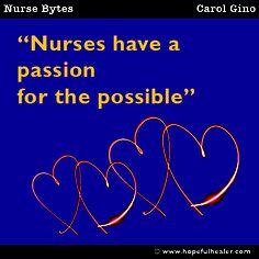 Nurses have...  #carolgino #quote #nursebytes #nurses #nurse #nursing