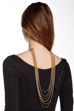 Back Draped Cuff Necklace by Stella + Ruby on @HauteLook