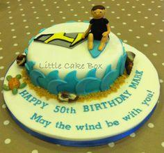 Windsurfer cake