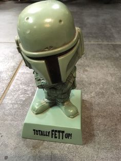 "Star Wars - Wisecracks ""Totally Fett Up"" (Funko) has following specifications Manufacturer recommended age: 5 years and up due to small parts - Choking hazard. 
