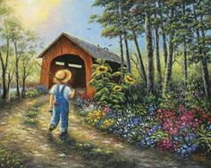 """Summer Stroll"" ~ Vickie Wade"
