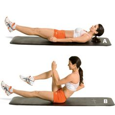 Moves 3, 5 and 6 for Abs