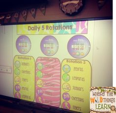 Ideas for implementing Daily 5 in your classroom with some freebies!