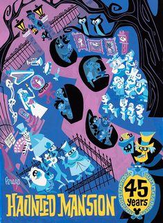 Haunted Mansion, 45th year anniversary