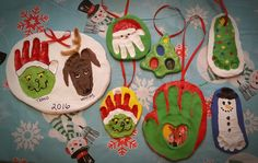 Annual Salt Dough Ornaments