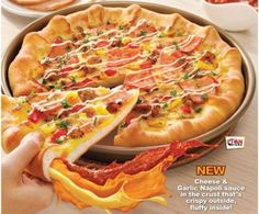 Pizza Hut Squirty Crust