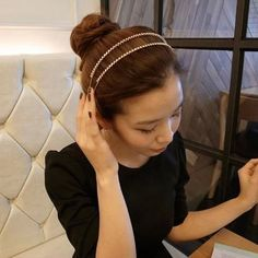 Korean small jewelry hair jewelry Korean version of the hair band headband, free home delivery #Affiliate