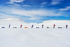 """Stunning Entries From The National Geographic Photo Contest - """"A race that follows in the path of the famous explorer Roald Amundsen brings the contestants to the Hardangervidda Mountainplateu, Norway""""    Read more: http://www.businessinsider.com/national-geographic-contest-photos-2012-10?op=1#ixzz2FROeiyTo"""