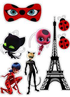 Ladybug Cakes, Ladybug Party, Candy Birthday Cakes, Birthday Decorations, Festa Lady Bag, Anime Miraculous Ladybug, Baby Animals Pictures, Disney Fairies, Paper Dolls