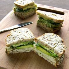 Green Goddess Turkey Sandwich