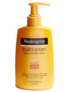 Neutrogena Build-a-Tan. The only self tanner I've found thus far that is salicylate free.