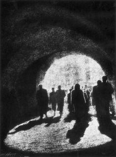 by Edward Hartwig Krakow Gate, Lublin, Poland, 1930.