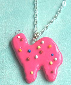 circus animal cookie necklace - Jillicious charms and accessories - 1