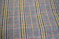 Vintage Wool Fabric 60 inches wide 60 inches long by GoofingOffSewing on Etsy