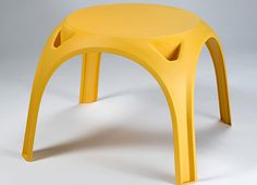 TABLE & CHAIR  Casper table and chair are aimed to bring design into the market of low cost mono-block plastic furniture for children.