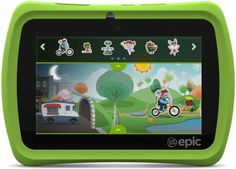 Read my review of the LeapFrog Epic children's learning tablet http://www.davidsavage.co.uk/educational/leapfrog-epic-review/