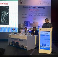 #Cardiology  Giving a talk on Imaging and Carotid Artery Stenting at Leela Hotel , Gurgoan