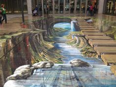 Amazing 3D street art by Gregor Wosik and Inge Wagner
