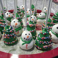 Xmas Cake Pops for the kids classes!!!!