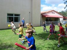 Harry Potter Quidditch Camp at Canterbury School of Florida