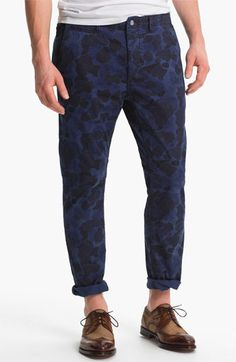 Scotch & Soda 'Mason' Camo Print Slim Straight Leg Chinos available at #Nordstrom USD 109.49