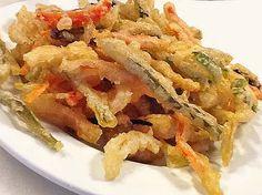 Esta receta de tempura rápida es muy fácil, siempre queda crujiente y la tienes en un minuto. Respeta las cantidades.