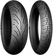 PAIR 120/70ZR17 (58W) TL F & 190/55ZR17 (75W) TL R Michelin Pilot Road 4
