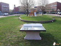 Pingpongtafel Groen bij Gemeente Nijmegen in Nijmegen