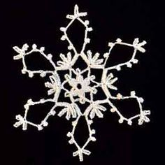 Crochet Snowflake #20 patterns for 22 crocheted snowflakes