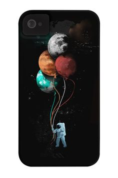 The spaceman's trip Phone Case for iPhone 4/4s,5/5s/5c, iPod Touch, Galaxy S4